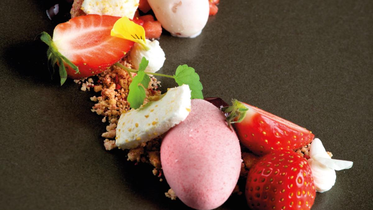 Dessert Aarbei